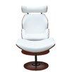 Fine Mod Imports Luxur Chaise Lounge & Ottoman Set