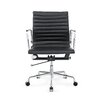 Fine Mod Imports Togo Mid-Back Leather Office Chair