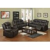 Sunset Trading Park Avenue 3 Piece Reclining Living Room Set (Set of 3)