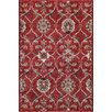 Central Oriental Tacoma Red Alberta Area Rug