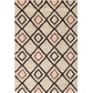 Central Oriental Medina Pearl/Red Blake Rug