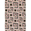 Central Oriental Medina Black/Red Connor Rug