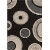Central Oriental Medina Black/Pearl Pure Rug