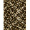 Central Oriental Dimensions Desmond Black/Brown Area Rug