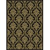 Central Oriental Gallery Damask Green Area Rug
