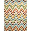 Jaipur Rugs Coastal Ivory/Multi Geometric Indoor/Outdoor Rug