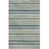 Jaipur Rugs C. L. Hand-Tufted Blue/Green Stripe Area Rug