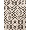 Jaipur Rugs Patio Ivory/Black Indoor/Outdoor Area Rug