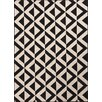 Jaipur Rugs Patio Ivory & Black Indoor/Outdoor Area Rug I
