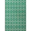 Jaipur Rugs Urban Bungalow Geometric Green/Ivory Rug