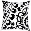 Jaipur Rugs Pop Nomad Suzani Pattern Cotton Throw Pillow I