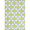 Jaipur Rugs Barcelona Blue/Green Geometric Indoor/Outdoor Area Rug