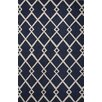 Jaipur Rugs Lounge Blue/Ivory Geometric Area Rug