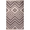 Jaipur Rugs Desert Taupe/Ivory Geometricl Indoor/Outdoor Area Rug