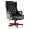 <strong>Traditional Series High-Back Wing Back Swivel / Tilt Office Chair</strong> by Alera®