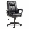 <strong>Clio High-Back Leather Executive Chair</strong> by Alera®