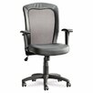 Alera® Easton Series Mid-Back Leather Swivel / Tilt Office Chair