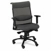Eon Series Mid-Back Swivel and Tilt Office Chair with T-Arms