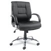 Alera® Ravino Big & Tall Series Leather Office Chair with Arms