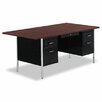 """<strong>72"""" Double Pedestal Steel Computer Desk</strong> by Alera®"""