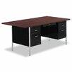 "Alera® 72"" Double Pedestal Steel Computer Desk"