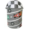 Innovative Home Creations Round Race Car Hamper