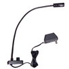"""AmpliVox Sound Systems Clip-on Halogen Reading 43"""" H Table Lamp"""