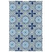 Kaleen Matira Blue Indoor/Outdoor Rug I
