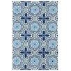 Kaleen Matira Blue Indoor/Outdoor Rug I