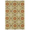 Kaleen Matira Gold Indoor/Outdoor Rug