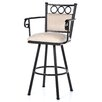 "<strong>Tempo</strong> Winston 30"" Bar Stool with Cushion"