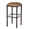"Hallmark 34"" Stationary Backless Barstool"