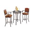 Tempo Madera 3 Piece Counter Height Pub Table Set
