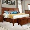 Avalon Furniture Panel Bed