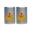BergHOFF International Children's Line Sheriff Duck Mini Salt and Pepper (Set of 2)