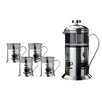 BergHOFF International Studio French Press 5 Piece Coffee Set