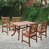 <strong>Atlantic 5 Piece Dining Set</strong> by Vifah