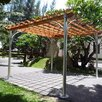 "<strong>Contemporary 8' 9"" H x 13' 9"" W x 13' 9"" D Pergola</strong> by Vifah"