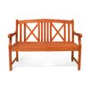 Vifah Outdoor Wood Garden Bench