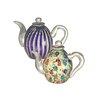 Dale Tiffany 2 Piece Favrile Teapot
