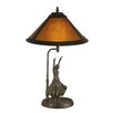 """Dale Tiffany Mica Dancer 23.25"""" H Table Lamp with Empire Shade"""