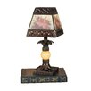"Dale Tiffany Hadden Mini 13"" H Table Lamp with Square Shade"