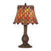 """<strong>Dale Tiffany</strong> Tiffany Manti 13.5"""" H Table Lamp with Empire Shade"""