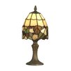 "Dale Tiffany Grape 13"" H Table Lamp with Bowl Shade"