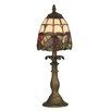 "<strong>Dale Tiffany</strong> Enid 14.5"" H Table Lamp with Bowl Shade"