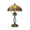 "<strong>Tiffany 26"" H Table Lamp with Bowl Shade</strong> by Dale Tiffany"