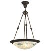 <strong>Nessa Mosaic 2 Light Bowl Pendant</strong> by Dale Tiffany