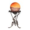 """Dale Tiffany Rose with Globe 15.5"""" H Table Lamp"""