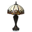 """<strong>Dale Tiffany</strong> Northlake 27"""" H Table Lamp with Bowl Shade"""