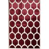 Rugs America Ambrose Crimson Links Area Rug